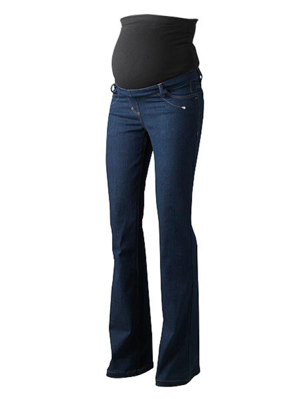 Indigo Over Bump Plus Size Maternity Jeans